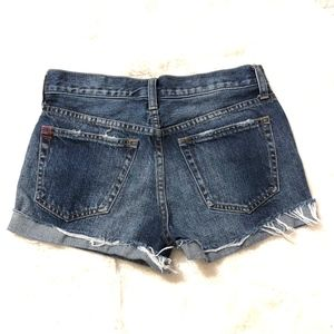 BDG Shorts - BDG | TomGirl Midrise Button Fly Distressed Shorts
